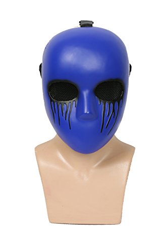 Mesky Halloween Maske Eyeless Jack Cosplay Mask Horror -