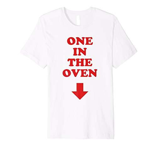 Arrow Comedy Pregnancy Costume T Shirt ()