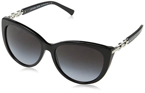 Michael Kors Damen MK2009 Gstaad Sonnenbrille, Schwarz (Black 300511), One size (Herstellergröße: 56)