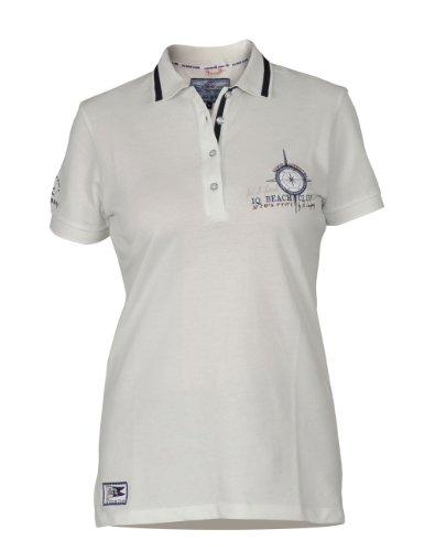 iQ-Company DC Women 94 Polo pour femme Blanc - stone
