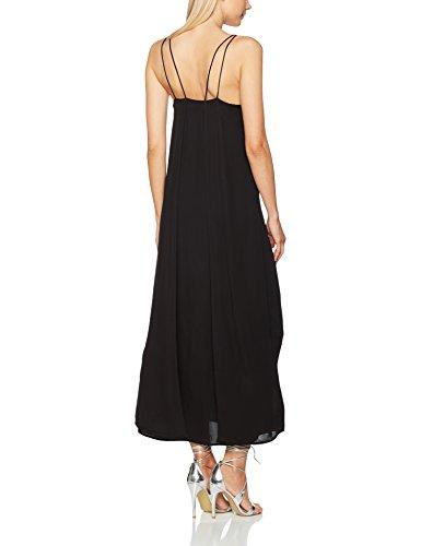 SELECTED FEMME Sftora Strap Dress H, Vestito Donna Nero (Black Black)