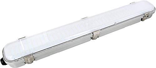 LED Deckenleuchte IP65 mit 5,8GHz HF-Bewegungsmelder 360° - 18W 1350lm 600mm - tagesweiß (4000 K)