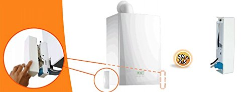 Visio Duo Lift Pumpe Evakuierung Kondensat 4Positionen möglich ist säurehaltige Kessel Kondensation die Klimaanlage Made in France (Kondensat-pumpe)