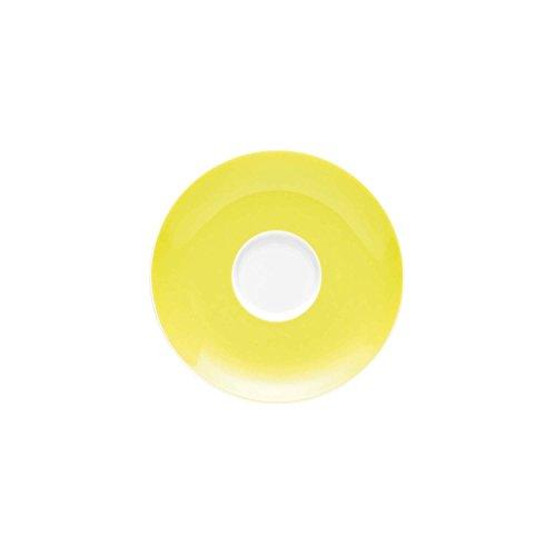 Soucoupe pour Tasse à Café 20 cl Thomas Sunny Day, Porcelaine, Lime Green / Vert Citron, Compatible Lave-Vaisselle, 14.5 cm, 14741