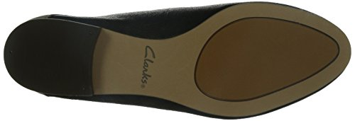 Clarks Ennis Weave, Chaussures de ville femme Noir (Black Combi)