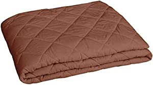 Supreme Home Collective Double Bed Dust Proof and Waterproof Microfiber Mattress Protector (72 x 78 Inches, Coffee)
