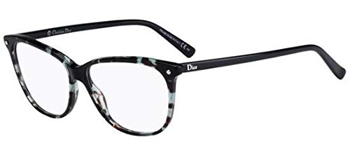 Christian Dior - CD 3270, Schmetterling, Acetat, Damenbrillen, GREEN HAVANA BLUE(LBT), 53/13/140