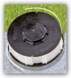 Rasentrimmer Ersatzfadenspule Gardenline - Einhell - King Craft - Top Craft mit Doppel-Nylon Faden 10 m / 1,4 mm (Craft Trimmer)