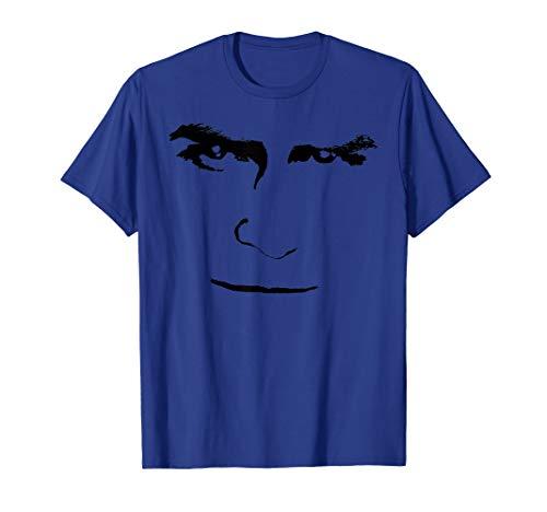 PRINCE HARRY Big Face Simple Halloween Costume Royal Family T-Shirt (Kind's Royal Prinz Kostüm)