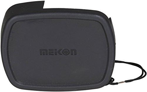 MEIKON Objektivdeckel Schutzkappe CN-8 Unterwassergehäuse Canon WP-DC52 Frontkappe G16 Schwarz 1 Stk.