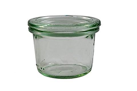 Pack 12 Vases W/Lid 80 Ml Glass