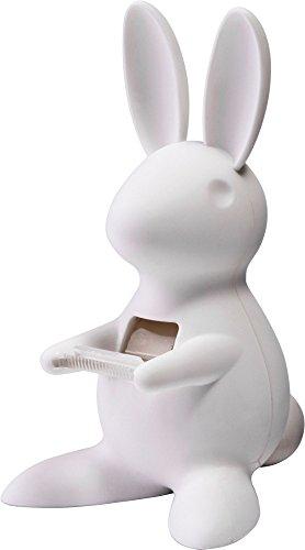 Unbekannt Klebebandabroller Desk Bunny Tape Dispenser - White