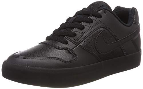 Vulc Schwarz Wildleder (Nike Herren SB Delta Force Vulc Fitnessschuhe, Schwarz Black/Anthracite 002, 40.5 EU)