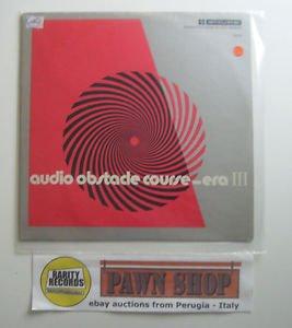 An audio obstacle course - era III LP SHURE TTR-110 Usa 1973
