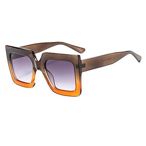 Laile_ Sonnenbrillen Großer Rahmen Unisex Gläser Rechteckig Klassische Brille Sommer schöne Dekobrillen günstige Persönlichkeit Fahrradbrille Weinlese Sportbrille