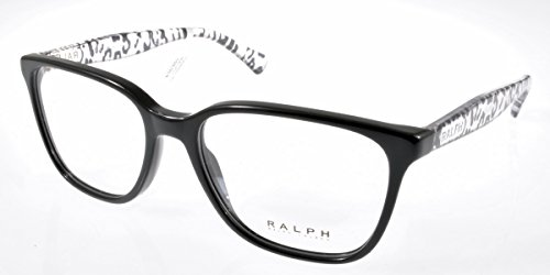 New Original Eyeglasses Polo Ralph Lauren RALPH 7058 501 Women Black Cat-eye