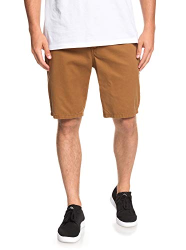 Quiksilver Everyday - Chino Shorts for Men - Chino-Shorts - Männer - 33 - Braun Everyday Chino