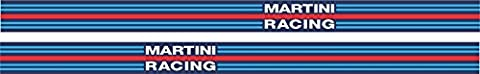 Side Stripes x 2 Martini Racing Style 1275mm (50