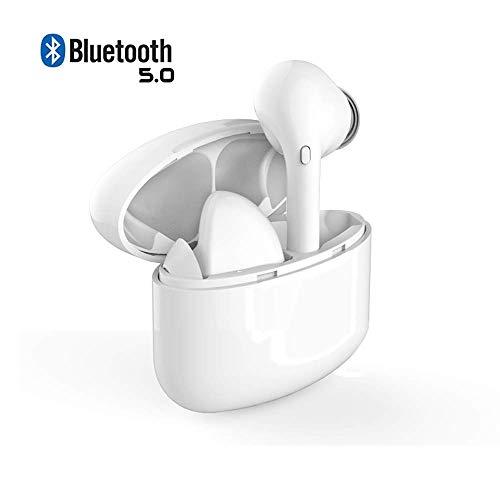 【2019 NeuesteBluetooth Kopfhörer Kabellos Noise Cancelling In Ear Ohrhörer Wireless Bluetooth 5.0 für iPhone Samsung (M6SSchwarz)