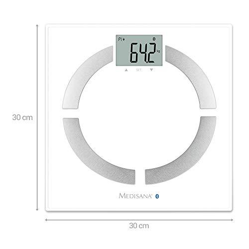 Medisana connect Körperanalysewaage zur Messung aller Körperdaten - 2