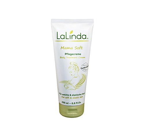 Creme gegen Dehnungsstreifen - LaLinda Mama Soft Feuchtigkeitscreme - vegan 200 ml - effektive Pflege mit hochwirksamen Pflanzenextrakten