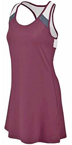 Augusta Deuce Dress Dark Maroon_Graphite_White 2X -