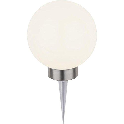 Lampe décorative solaire boule Ampoule LED 0.7 W blanc froid, RVB renkforce blanc