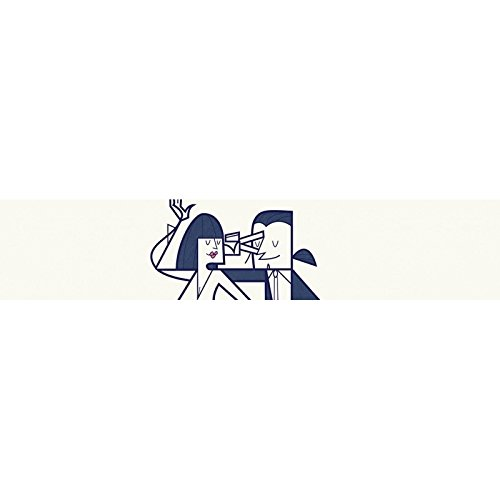 Sticker iPhone 6 et 6S de chez Skinkin - Design original : Shut up and dance par Ale Giorgini Coque iPhone 4