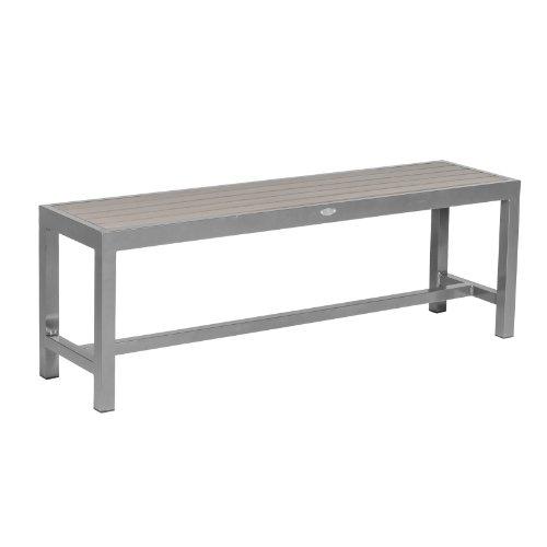 Dunklen Esstisch Aus Nussbaum (SOL Bistro cb310astb-150-dw Zwei/Drei-Sitzer Bench–Nussbaum dunkel)