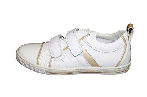 Wal Kid Cherie Kinder Schuhe Mädchen Halbschuhe 7681 (ohne Karton) Weiß (weiß/gold) q9sjGwqdYF