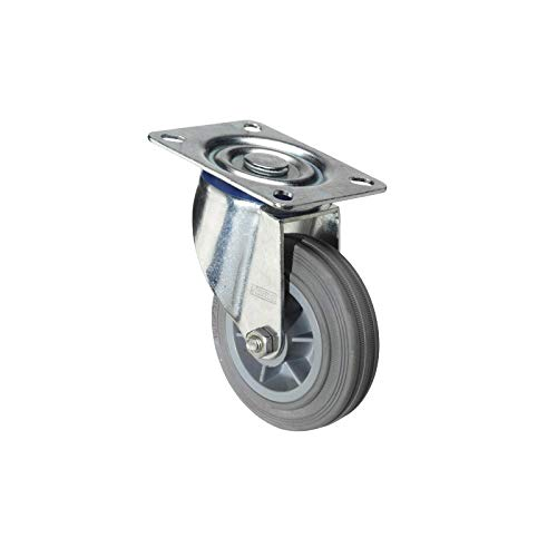 Wolfpack 11110835 Roue, gris, 80 mm