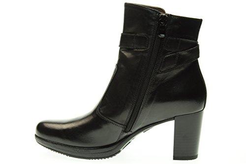 BLACK JARDINS femme bottes avec talon A616410D / 100 Nero