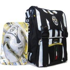 SEVEN - FC JUVENTUS ZAINO SCUOLA ESTENSIBILE + PALLONE UFFICIALE