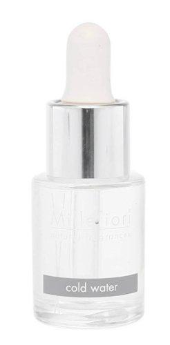Millefiori Natural wasserlösliches Duftöl 15 ml Cold Water, Glas, Weiß, 5.5 x 11.8 x 5.3 cm -