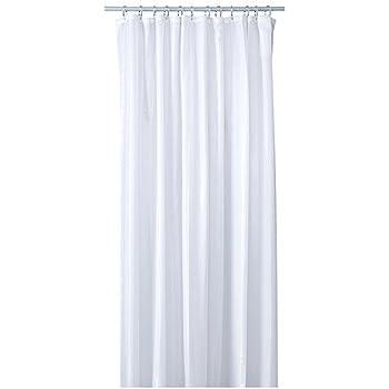 Duschvorhang Ikea ikea saltgrund duschvorhang in weiß 180x200cm amazon de küche