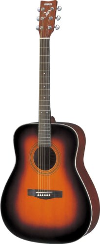 Yamaha F370 Full Size Acoustic Guitar, Tobacco Brown Sunburst