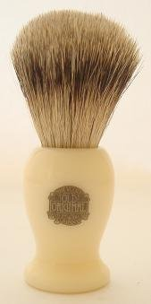 Progress Vulfix 660S Medium Super Badger shaving brush, Ivory colour by Progress Vulfix
