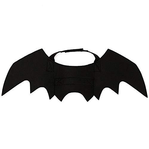 Wankd Lustiges Katzenkostüm für Halloween, Fledermaus, Flügel, Katze, Fledermaus-Kostüm für Partys, Hunde, Katzen, Spielzubehör