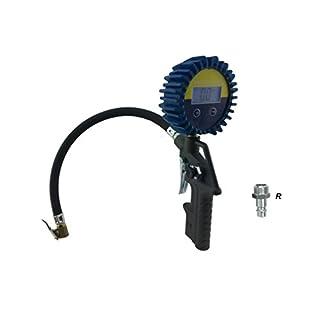 Inflating Air Gun 53dg with Digital manometo D630–12BAR for Tyres