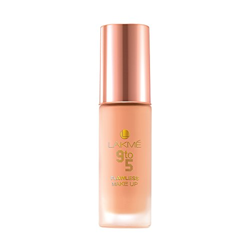 Lakme 9 to 5 Flawless Makeup Foundation, Pearl, 30 ml