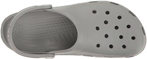 Crocs Classic, Zoccoli Unisex – Adulto Grigio (Light Grey)