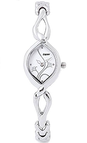 Espoir Analog White Dial Women's Watch-ESP2546