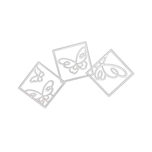 AOGOTO Neu Blume Herz Metall Schneiden Stirbt Schablonen DIY Scrapbooking Album Papier Karte -