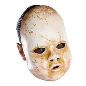 Kostüm Baby Fancy Dress Adult - Adult Baby Doll Halloween Mask Fancy Dress