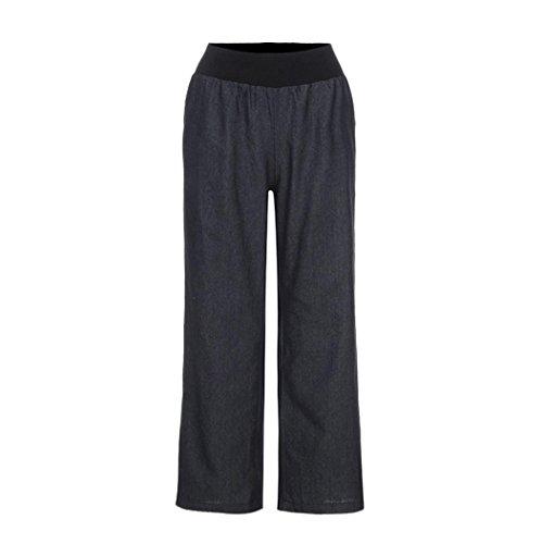 JYC - Pantalon de sport - Décontracté - Femme Noir