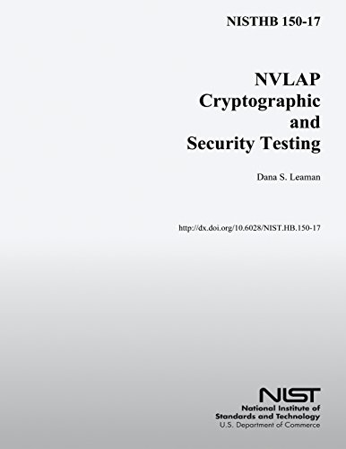 NISTHB 150-17 NVLAP Cryptographic and Security Testing por U.S. Department of Commerce