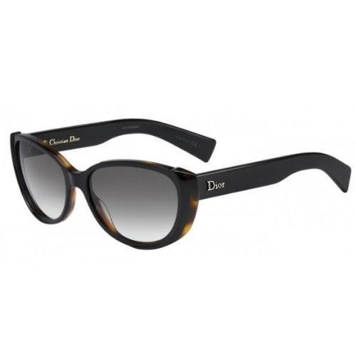 Dior SUMMERSET 2 S Black Havana mit Grey Shaded Brillenglas - Sonnenbrillen