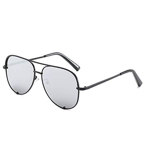 FIRM-CASE Neue Art und Weise Sonnenbrille Frauen übergroße Brille Pilot Sun für Frauen Luxury Shades New Lunettes Femme, 1