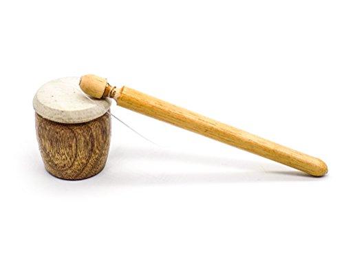 Frog Buzzer / Waldteufel aus Holz - Percussion-Instrument