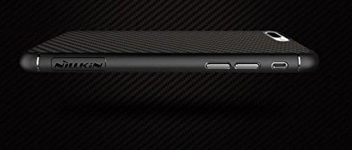 BCIT minimalistische iPhone 7 Plus Hülle - Aramid-Faser strapazierfähige ultra dünne - eng anliegende, kratzresistente Handyhülle für iPhone 7 Plus - Schwarz (Twill) Schwarz